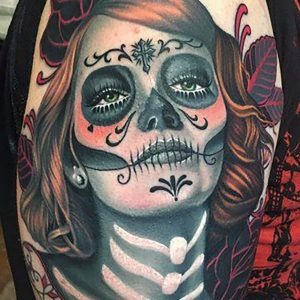 tatuaje catrina pin up