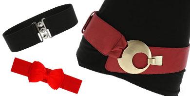 cinturones pin up