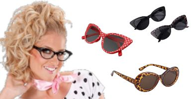 gafas de sol estilo pin up
