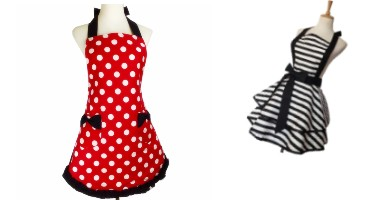 delantales estilo pin up