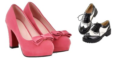 zapatos de estilo pin up rockabilly