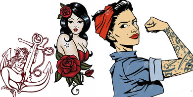 tatuajes pin up